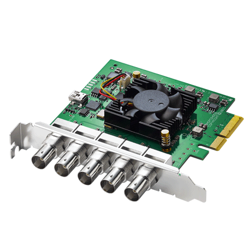 Blackmagic Design Announces New DeckLink Duo 2 PCIe Capture and Playback Card