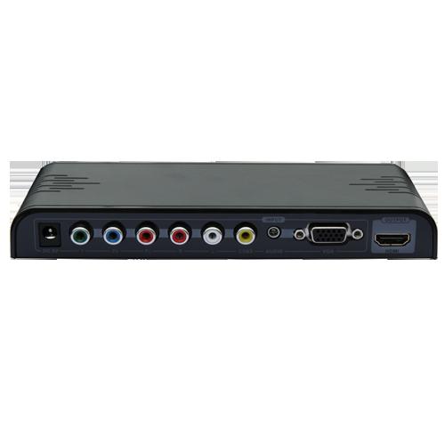 YPbPr+VGA+CVBS+ Audio to HDMI CONVERTER