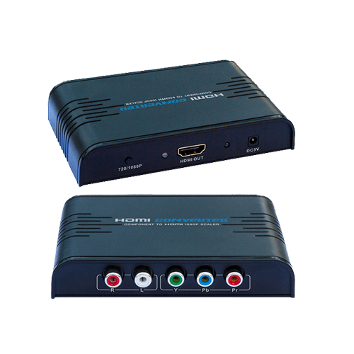 Component video to HDMI 1080P Upscaler