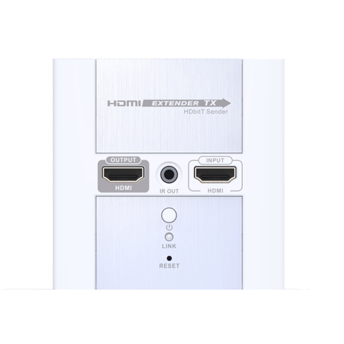 HDbitT HDMI Wall Plate Extender Over network with IR
