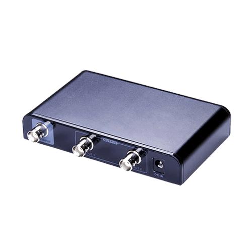 Two ports SDI splitter