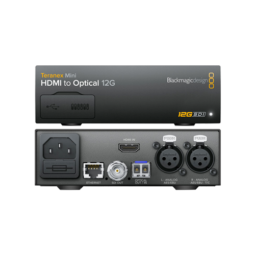 Teranex Mini - HDMI to Optical 12G