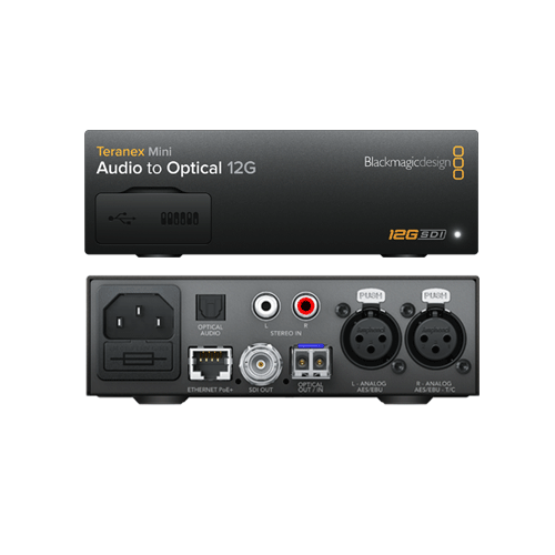 Teranex Mini - Audio to Optical 12G